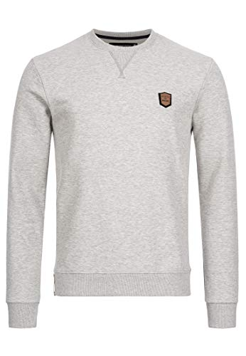 Indicode Caballeros Beechen Sudadera con Puños Acanalados | Caliente De Clásico Invierno Sweater Jersey Hombre para Hombres