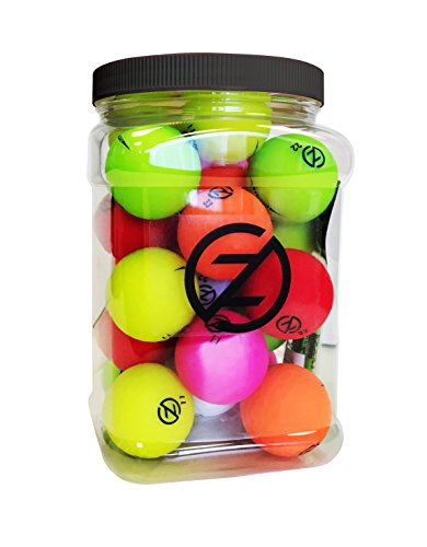 Zero Friction Spectra Golf Ball Super Jar, Multicolor, 1/2 Gallon