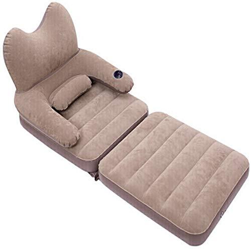 LWH Aufblasbares Sofa,Luftbett,Fauler Sessel,Leicht zu Tragen,rutschfest und Luftleckage,Geeignet für Reisen,Schlafzimmer,Camping,170X70X75CM