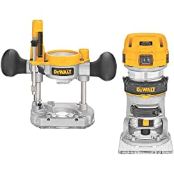 DEWALT Router Fixed/Plunge Base Kit, Variable Speed, 1.25-HP Max Torque (DWP611PK) review