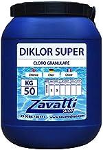 Zavattishop Cloro granulado Producto químico Piscina - 50 Kg