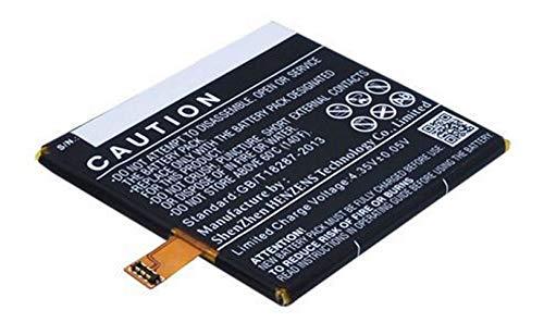 Accu compatibel met BQ Aquaris E5 HD Ubuntu Edition   3.8 Volt   2500 mAh   9.5 Wh Li-Pol accu