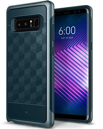 Caseology Parallax for Galaxy Note 8 Case (2017) - Award Winning Design - Aqua Green