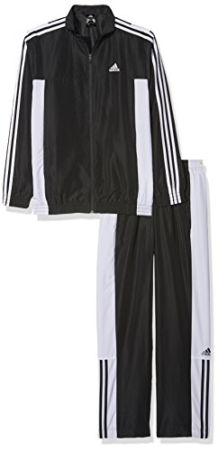 adidas TS BASIC 3S - trainingspak - heren, zwart, 168