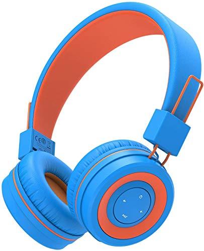 Kids Bluetooth Headphones, iClever Wireless Headphones with MIC, 85dB...