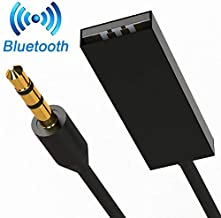 Attom Tech Bluetooth 3.5mm Aux Adapter, Portable Bluetooth Receiver Car Adapter Aux Adapter to Bluetooth for Music Streaming Sound System, Hands-free call Audio Adapter & Wireless Car Kits for Home/Ca