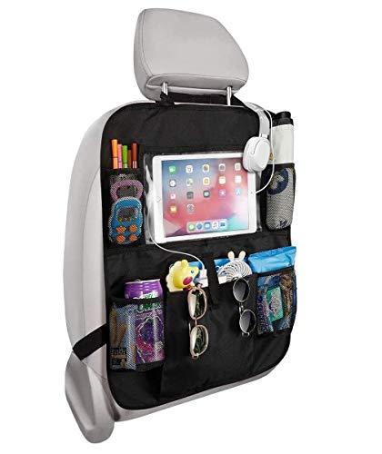 Koksi Car Seat Organiser, Car Backseat Organizer with 10' Tablet Holder, 9...