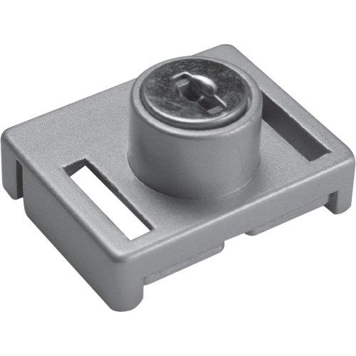 Defender Security U 9838 Sliding Window Keyed Lock, Aluminum Finish