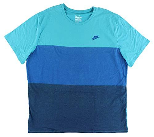Nike mens TECH FLEECE TANK 727353-418_S - Omega Blue/Black/Black