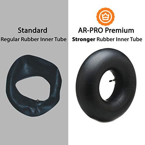 Utility Tire TR13 Valve Stem Premium Service 20x8.00-8 /& 20x10.00-8 Inner Tube for Lawn and Garden