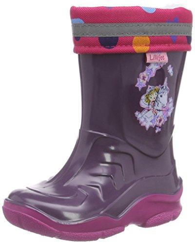 Prinzessin Lillifee Mädchen 120114 Gummistiefel, Violett (Viola), 34 EU