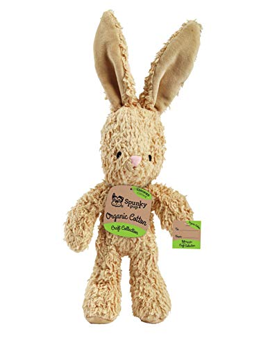 Spunky Pup Organic Cotton Bunny - Large, Assorted (2096)