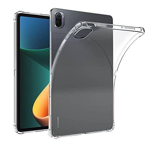 IVSOTEC für Xiaomi Pad 5/Pad 5 Pro Hülle, Hochwertiges Soft TPU Schlank Schutzhülle, Stoßfest Anti-Scratch Slim-Fit Shock Absorption Hülle für Xiaomi Pad 5/Pad 5 Pro 11 Zoll 2021, Transparent