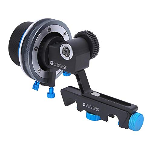 Enfoque de seguimiento de cámara SLR con control deslizante de montaje rápido,...