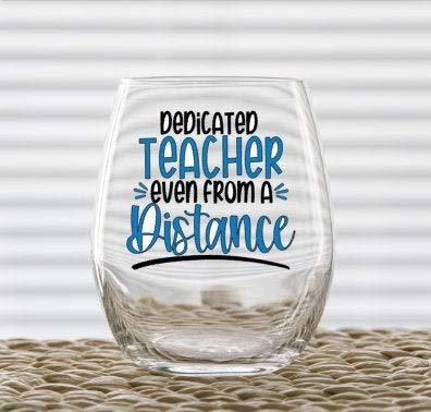 Vaso de vino para profesores, divertido vaso de vino de Navidad, 445 ml