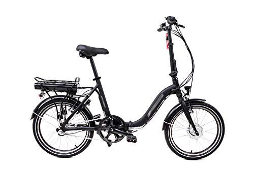 20 Zoll Elektro Faltrad E Bike Klapprad Pedelec Shimano Nexus 3 Gang Rücktritt schwarz