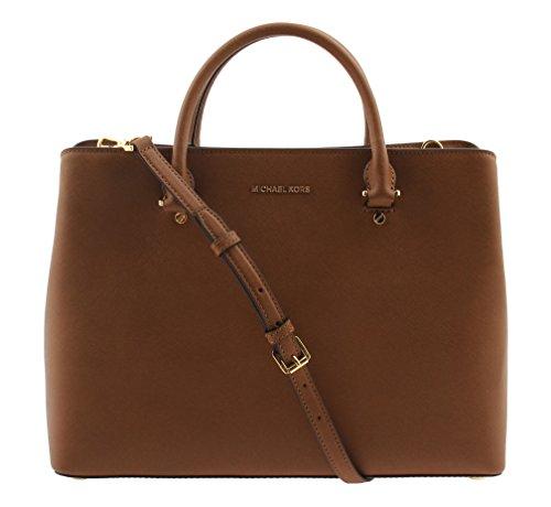 MICHAEL Michael Kors, the Savannah XL Multifunction Leather satchel Luggage