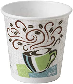 1000-Count Dixie PerfecTouch 10 oz. Insulated Paper Hot Coffee Cups