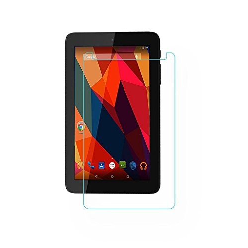 Colorcase Tempered Glass Screenguard for Micromax Canvas Tab P290