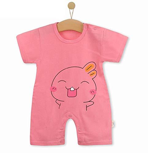 Unisex-Baby Infant Wide Short Sleeve Animal Cartoon Bodysuit Bodys BB@TZZ08P1-0712