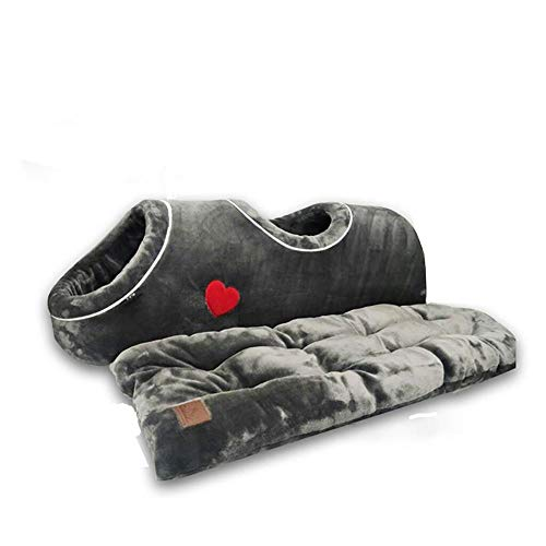 Pet Nest, Soft Cat Litter Warm Sleeping Nest, Funny Pet Bed With Flannel Cushion, Cat Tunnel Cushion, Winter Toy Bed, Clean And Comfortable, Cute And Soft, Suitable For Cats And Dogs In The House.
