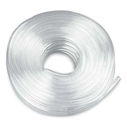 (1m/1,00€)PVC Luftschlauch 10 Meter 9/12mm transparent für Aquarium Belüftung Koi Teich