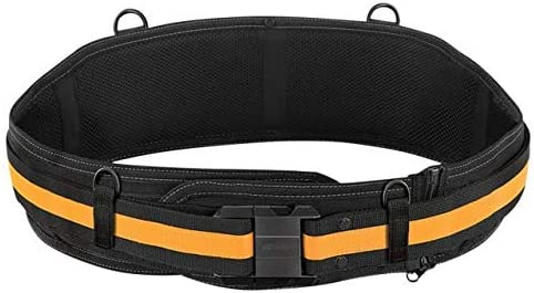 2021 spring and summer new Portland Mall ToughBuilt - Padded Belt Heavy Duty Support Back Zip-of Buckle