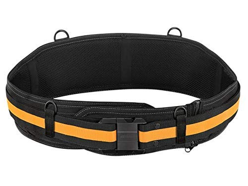 ToughBuilt - Padded Belt Heavy Duty Buckle/Back Support - Zip-off Padding Extension, Customizable Belt Length, Comfortable Padding, Compatible with all ClipTech Pouches - (TB-CT-41)