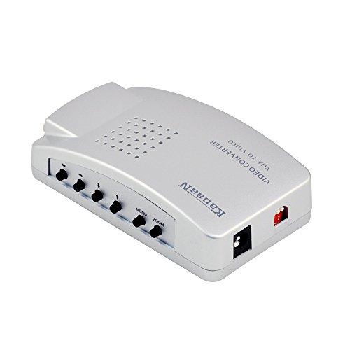 LEICKE KanaaN - PC VGA para TV Composite Video RGB   Convertidor de PC, VGA a TV...