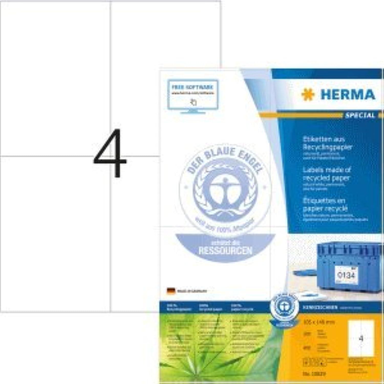 Herma Etiketten 105,0x148,0mm naturweiß RC A4 VE=100 Blatt B00BYA2BDE  | Vorzügliche Verarbeitung