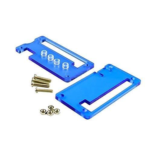 ZTSHBK Raspberry Pi Acryl Zero Case Shell Acrylgehäuse Schutz Blue Box Neu