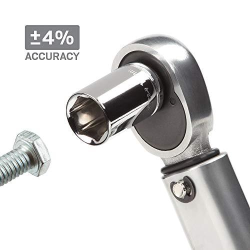 TEKTON 1/4 Inch Drive Click Torque Wrench (20-200 in.-lb.)   24320