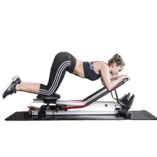 GYJ Indoor Rudergerät Rudergerät, Fantastische Body Sculpture Twin Hydraulische Trainingsgeräte, Maximales Benutzergewicht 150 Kg / 331 Pfund Faltbare Unisex