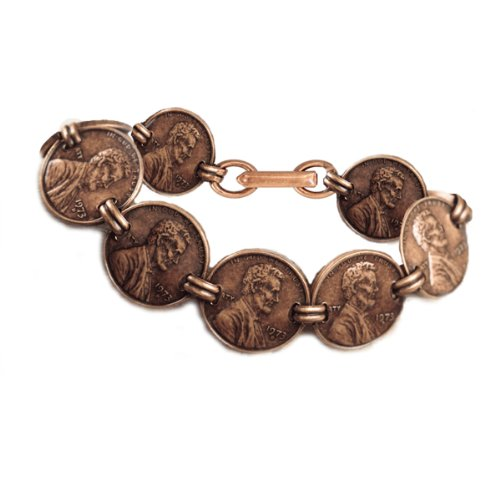 Copper Penny Coin Bracelet