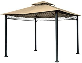 Garden Winds Replacement Canopy Top Cover for The Havenbury Gazebo - Beige