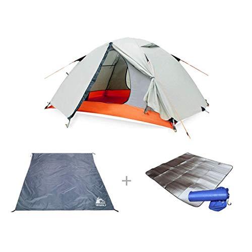 YBB-YB YankimX HWZP - Tienda de campaña unisex diseñada con tela resistente al viento, equipo portátil de picnic, capacidad para 1-2 personas, color gris