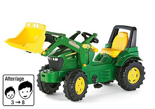 Rolly Toys S2671002 710027 – rollyFarmtrac John Deere 7930 pojazd z pedałem (dla dzieci od trzech lat, cicha opona, regulowane siedzenie)