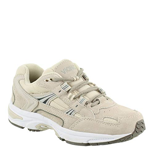 Vionic Womens Orthaheel, Walker Sneaker Cream 5 M