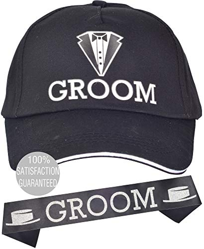 powerful MEANT2TOBE Black Groom Bachelor Party Baseball Cap l Bachelor Groom Wedding Party Jewelry…