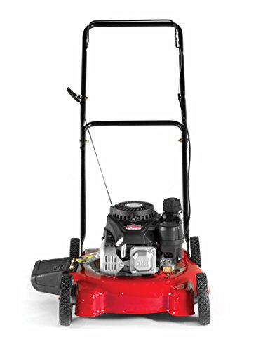 Yard Machines 132cc 20-Inch Push Gas Lawn Mower - Mower for Small to Medium Sized Yards - Adjustable Cutting Heights, Red