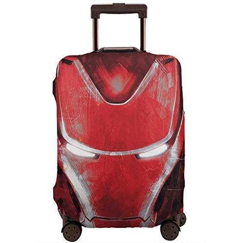 Funda para equipaje de viaje, color anime Iron Man maleta, fundas protectoras...