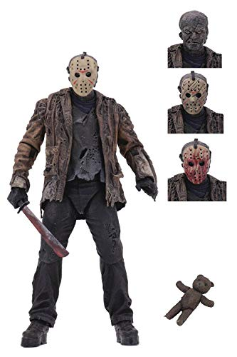 NECA - Figurine Freddy Vs Jason - Jason Voorhees Ultimate 18cm - 0634482397251