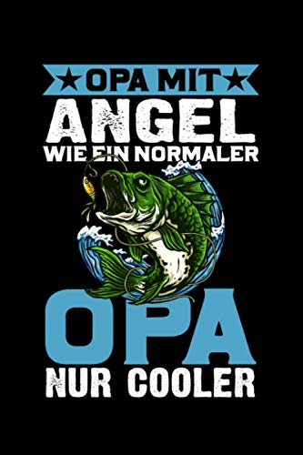 Angler Opa Angeln Großvater Opi Angel: Taschenbuch / Notizbuch mit Wohnmobil Motiv -in A5 (6x9 Zoll) gepunktet (dot grid)