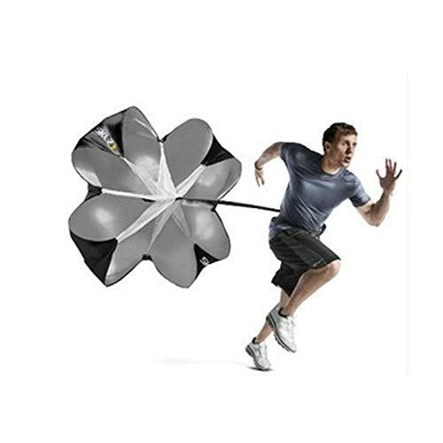 Review no logo Haoyushangmao Soccer Speed Parachute Strength Training Umbrella Football Basketball R...