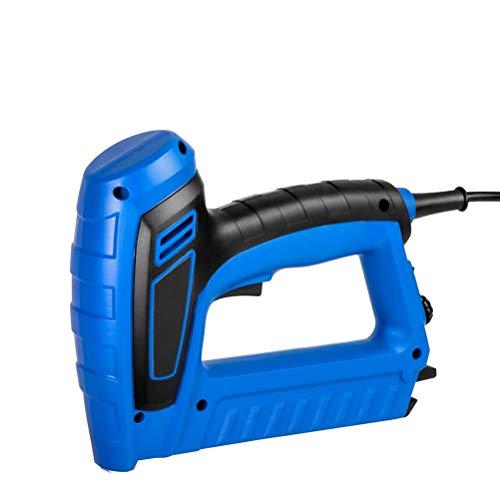 Release Pistola de Grapas eléctrica 220 V-240 V, Pistola de Clavos Ajustable eléctrica for Muebles, Herramientas de tapicería for carpintería, Grapadora de Clavos