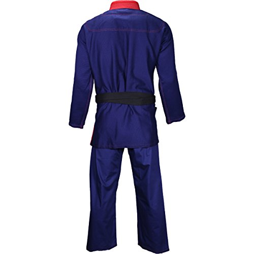 adidas Star & Stripes BJJ Gi Pearl Weave (Navy/RED, A4)
