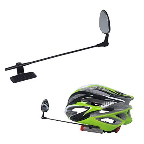 Woorea Espejo de Casco de Bicicleta Espejo retrovisor de Bicicleta Ligero Ajustable...