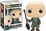 Funko- Harry Potter-Draco Malfoy Quidditch Figurina, Multicolore, 6881
