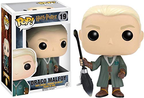 Funko POP! Harry Potter: Draco Malfoy Quidditch Exclusivo