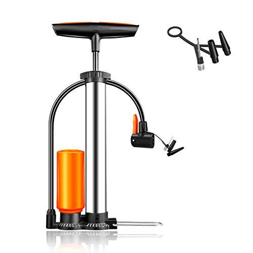 Evaduol Bomba de Aire Bicicleta con Bomba de Refuerzo | Inflador Bicicletas para Bicicletas para Todas | Bomba Bicicletas 13 Bar / 190 PSI